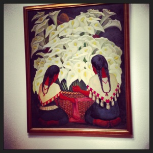 diego rivera at the high museum - atlanta